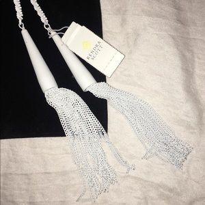 Kendra Scott Jewelry - Kendra Scott Phara Lariat Necklace in matte white